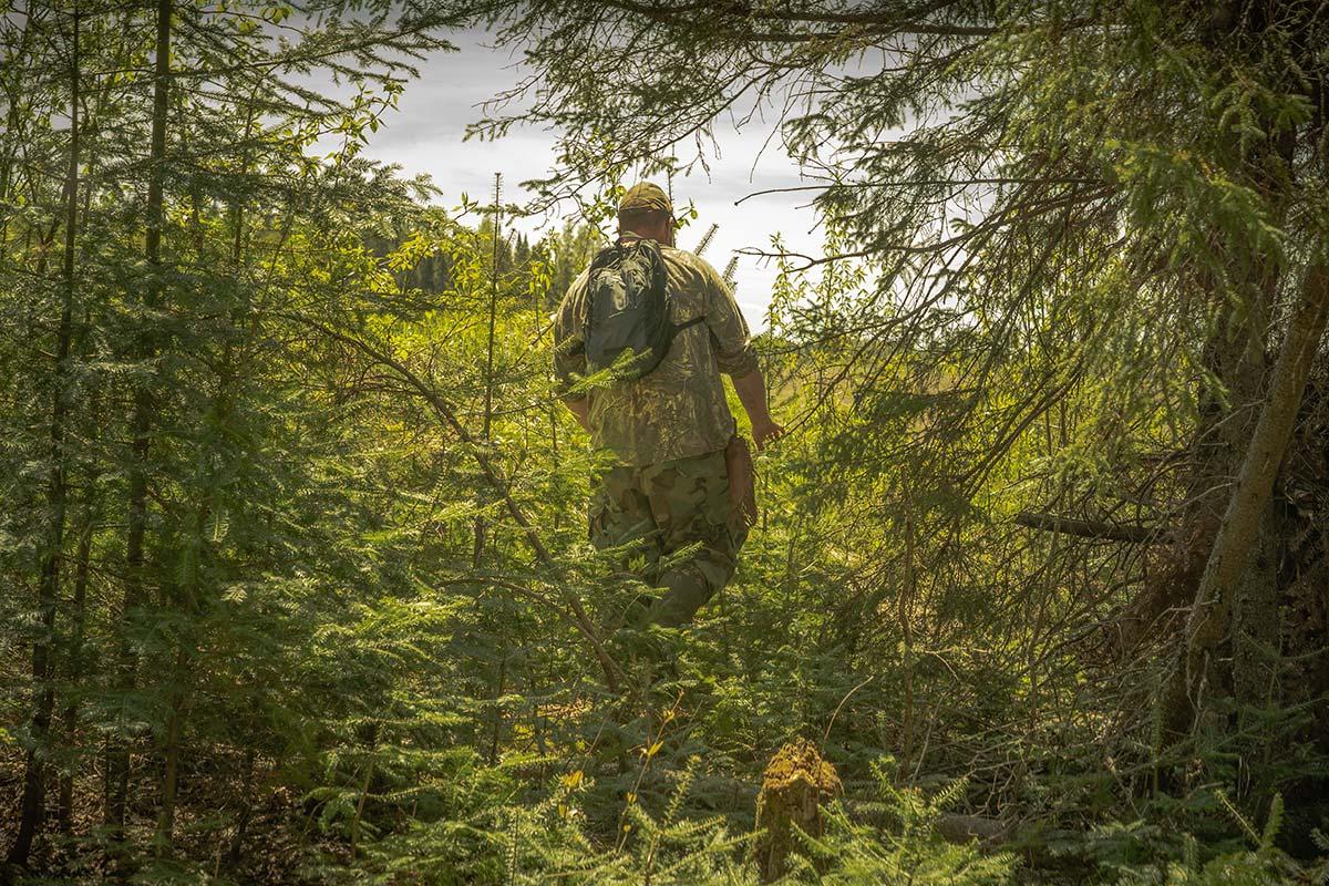 Pascal Laliberté dos forêt - Fourrure Abitibi360