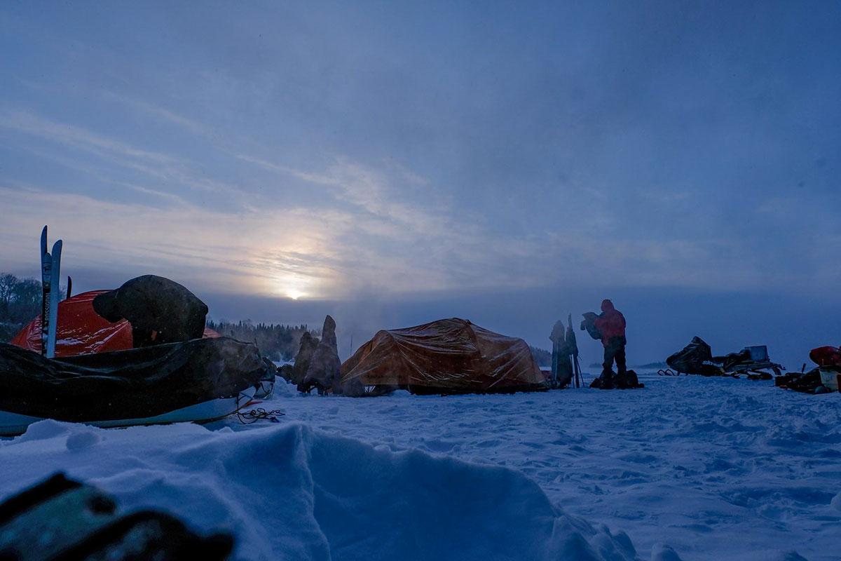 Dormir au froid - Froid Abitibi360