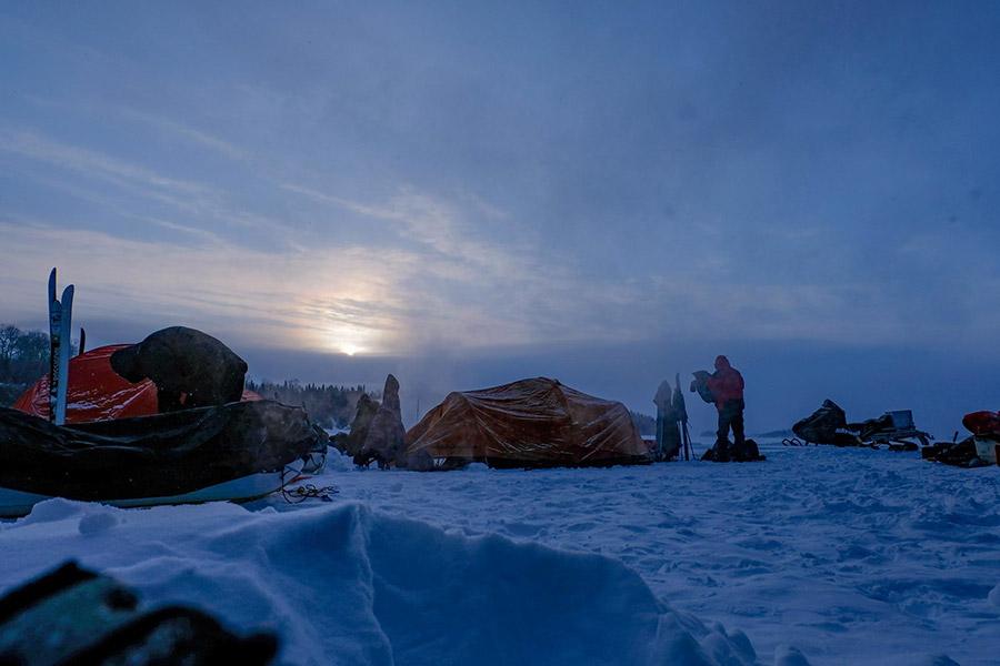 Campement - Froid Abitibi360