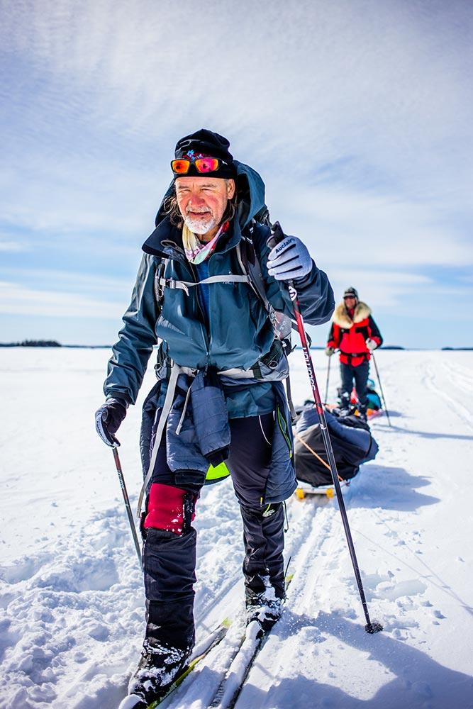 Skier au soleil - Froid Abitibi360