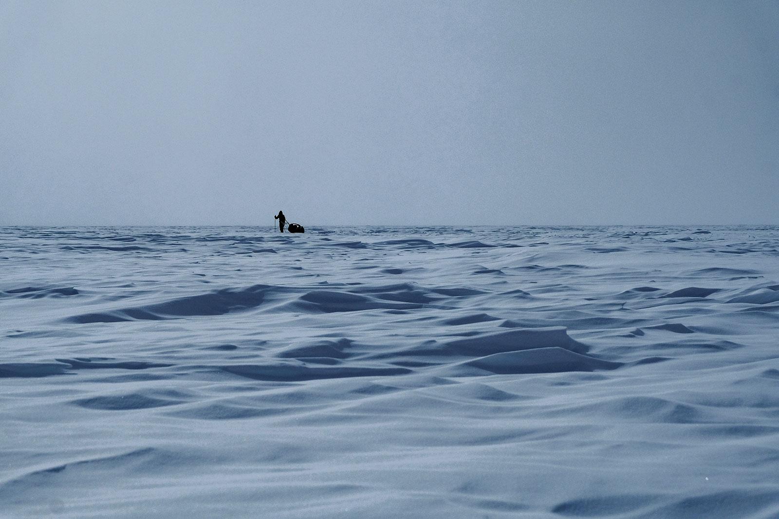 Immensité et solitude - Froid Abitibi360