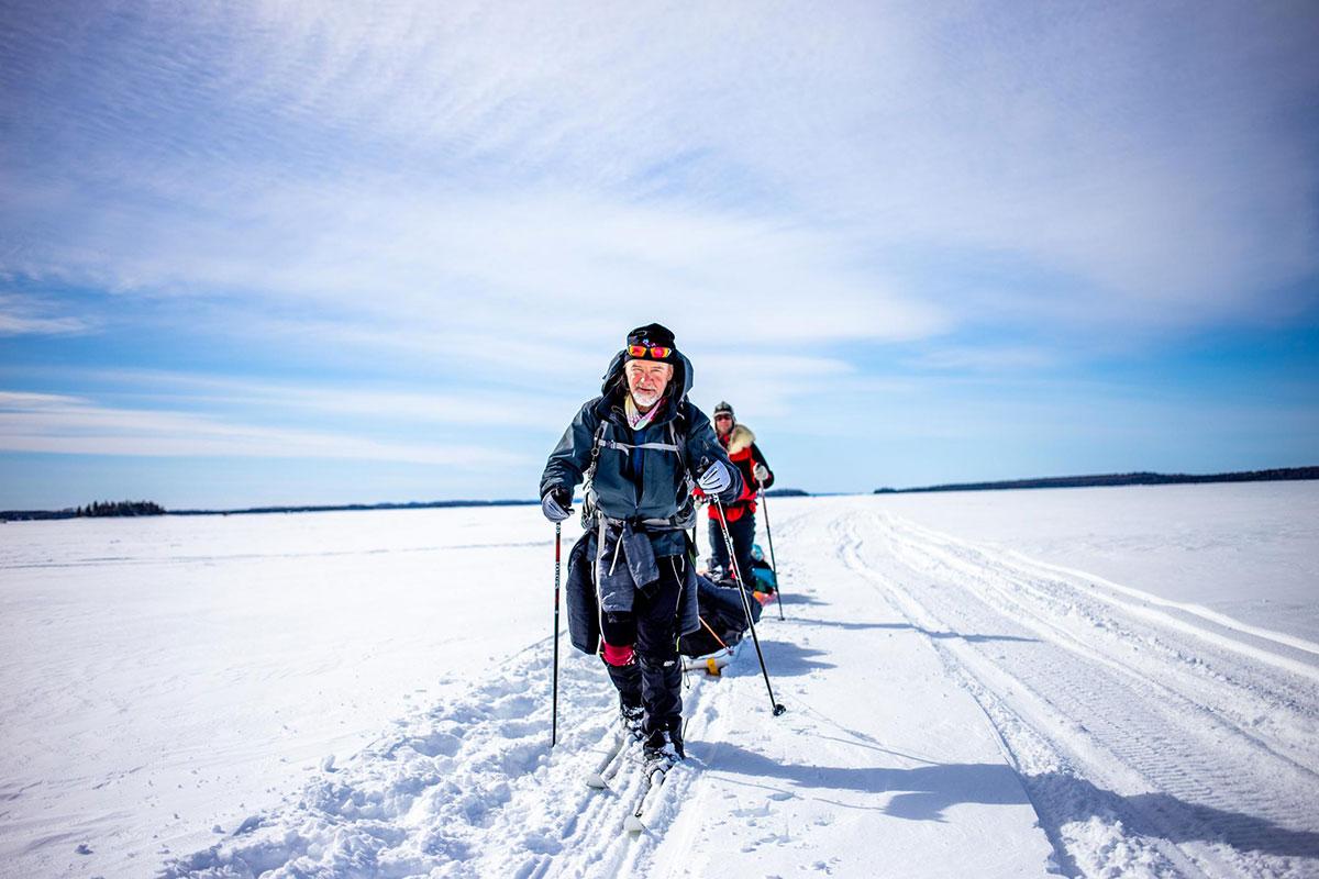 Skier au froid - Froid Abitibi360