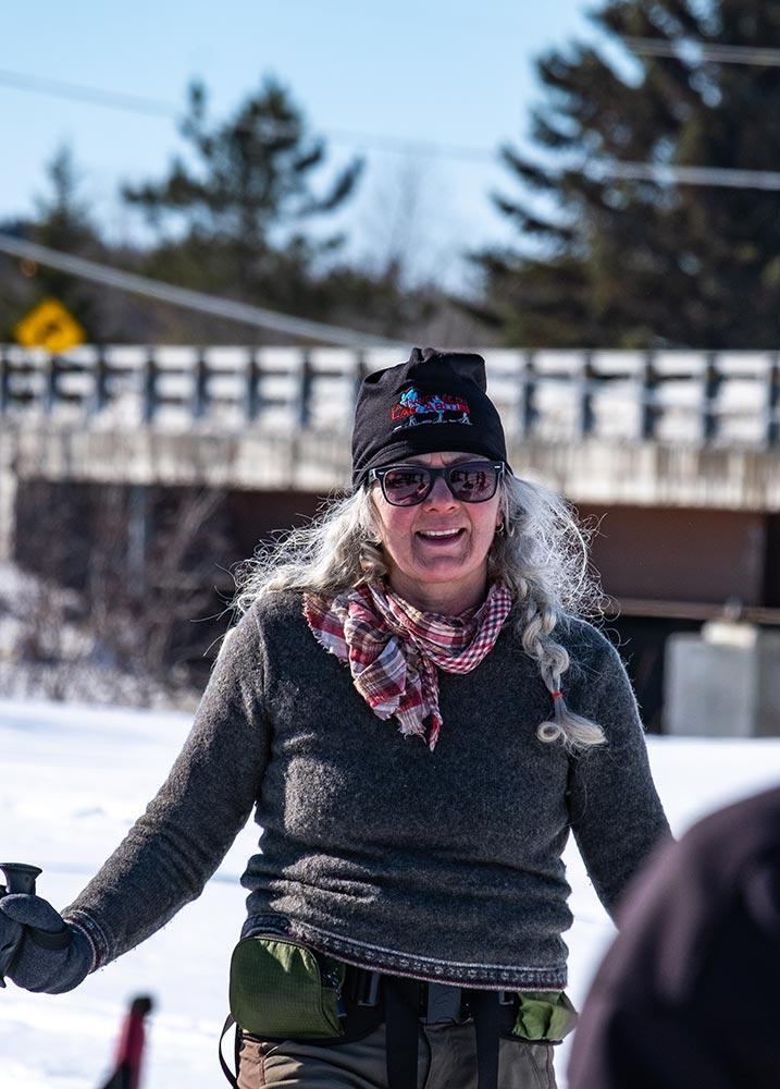 Femme skieuse - Froid Abitibi360