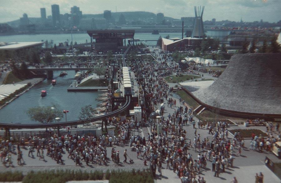 Expo 67 - Pagaie Abitibi360