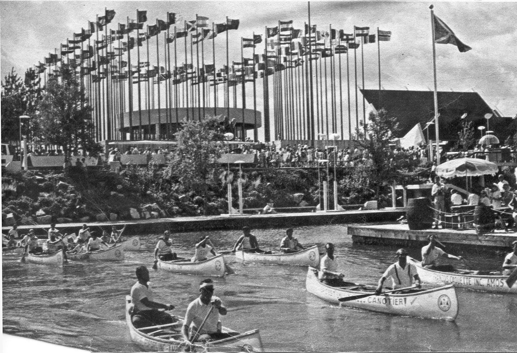 Arrivé des canotiers à Montréal- Pagaie Abitibi360