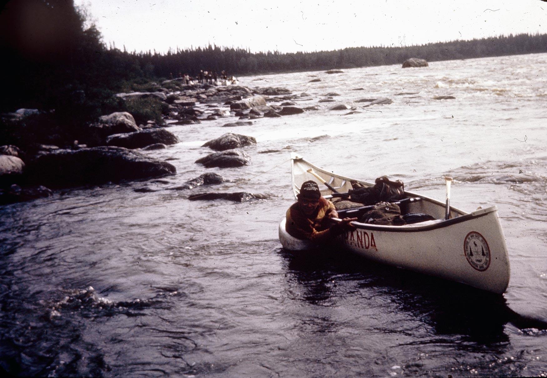 Misère canot - Pagaie Abitibi360
