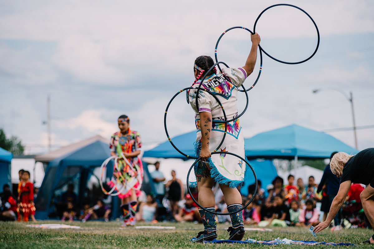 Danse regalia - Pow wow Abitibi360