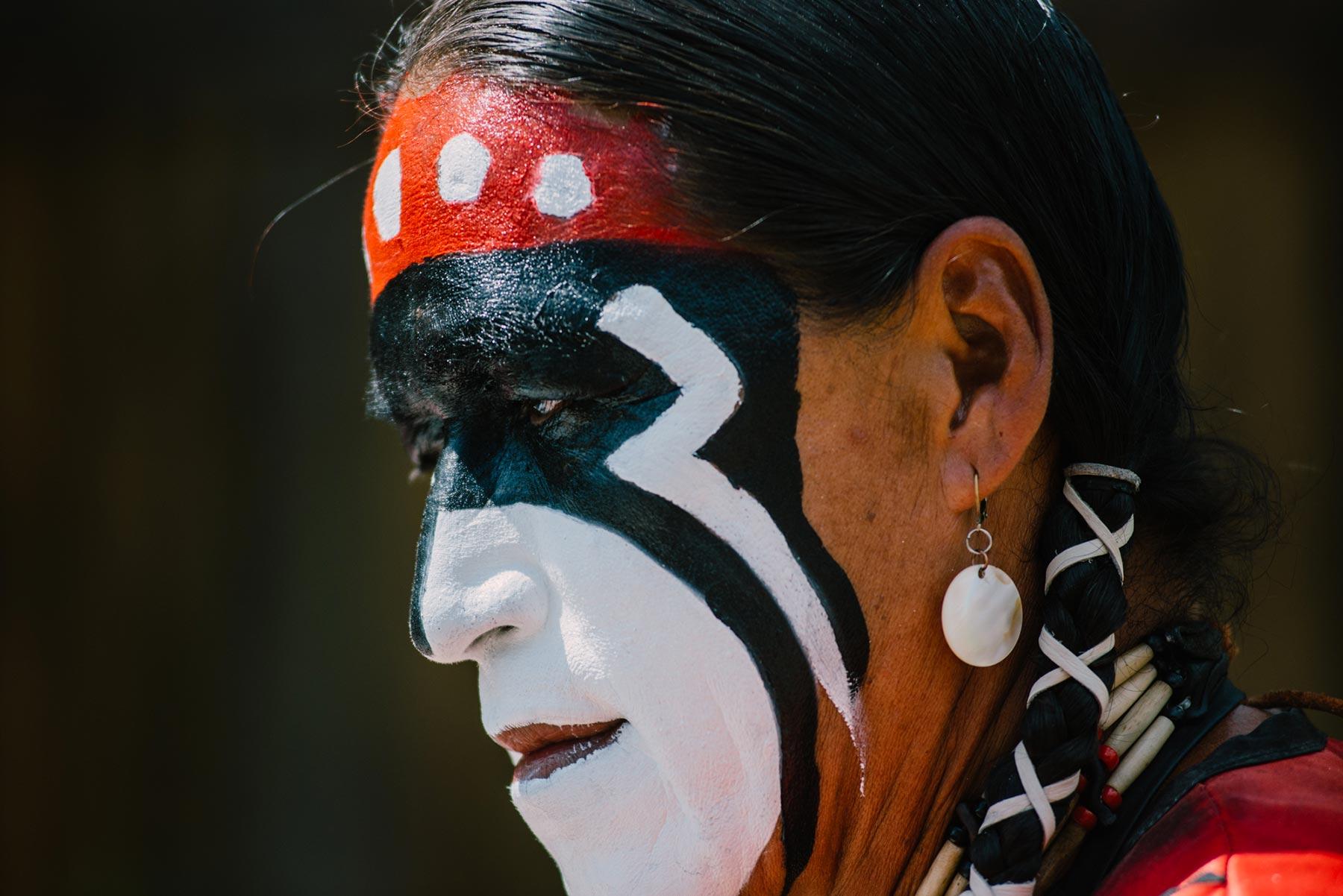 Maquillage visage - Pow wow Abitibi360